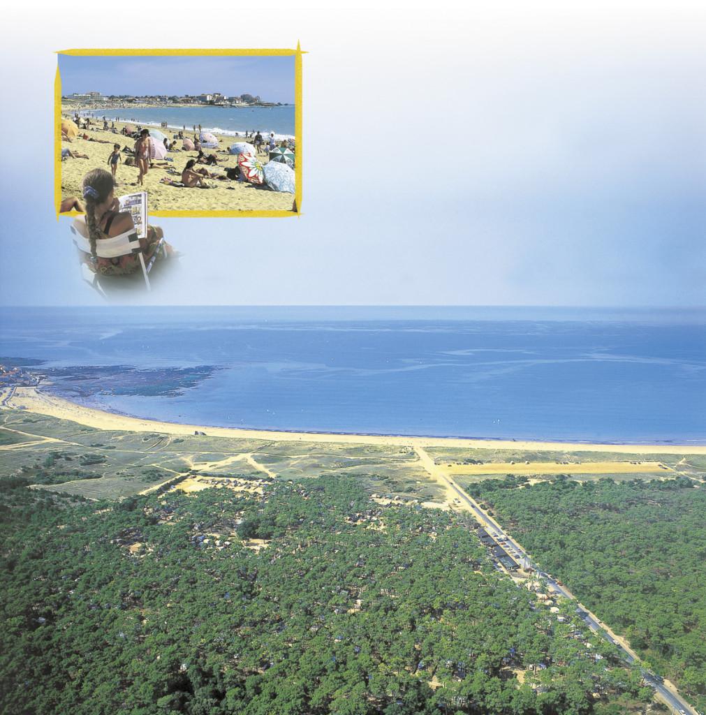 Un camping 3 étoiles avec accès direct à la plage en Vendée