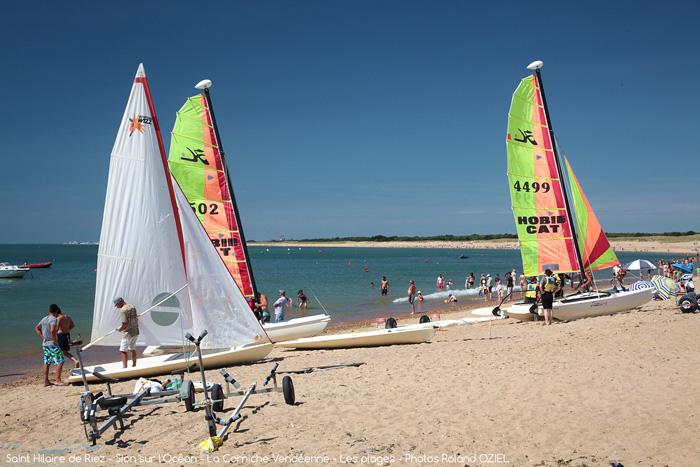 Camping avec emplacement proche des plages de Saint Hilaire de Riez