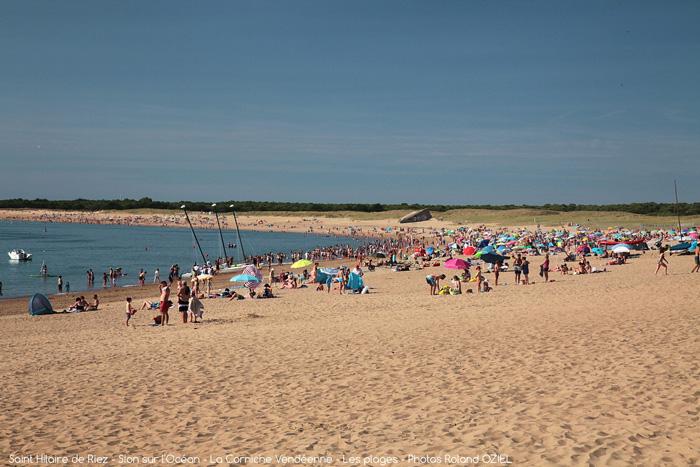 Un camping calme avec accès direct plage à Saint Hilaire de Riez
