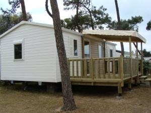 mobil home au camping en Vendée