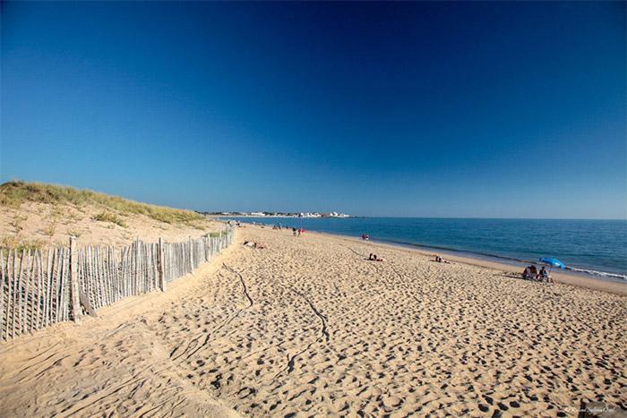 la plage près du meilleur camping à Saint Gilles Croix de Vie