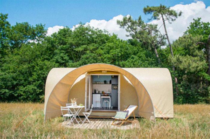 hébergemetn insolite top camping à Saint Gilles Croix de Vie